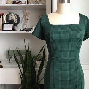 Ann Taylor • Square Neck Sheath Dress